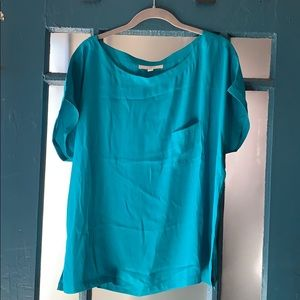 🍁3 for $24🍁 Loft teal boxy top